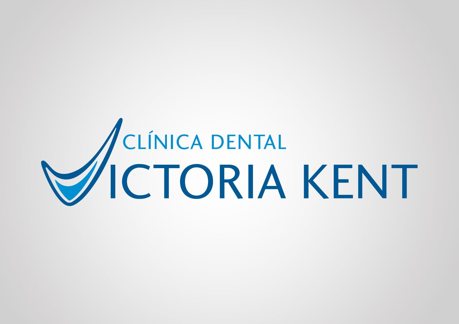 Logotipo actual de Clínica Dental Victoría Kent
