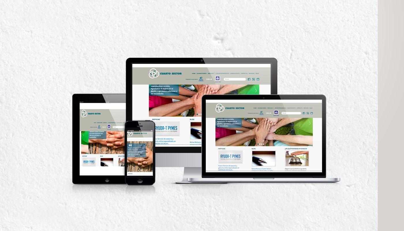 Diseño web para Cuarto Sector - GoodCompany