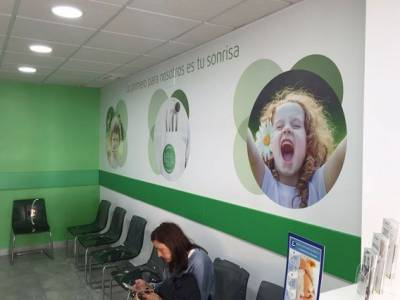 Decoración interior de la Clínica Dental Novasalud