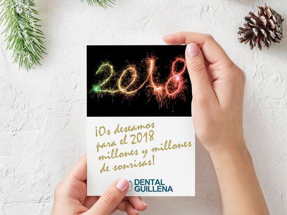 Diseño de Felicitación de Navidad para Dental Guillena