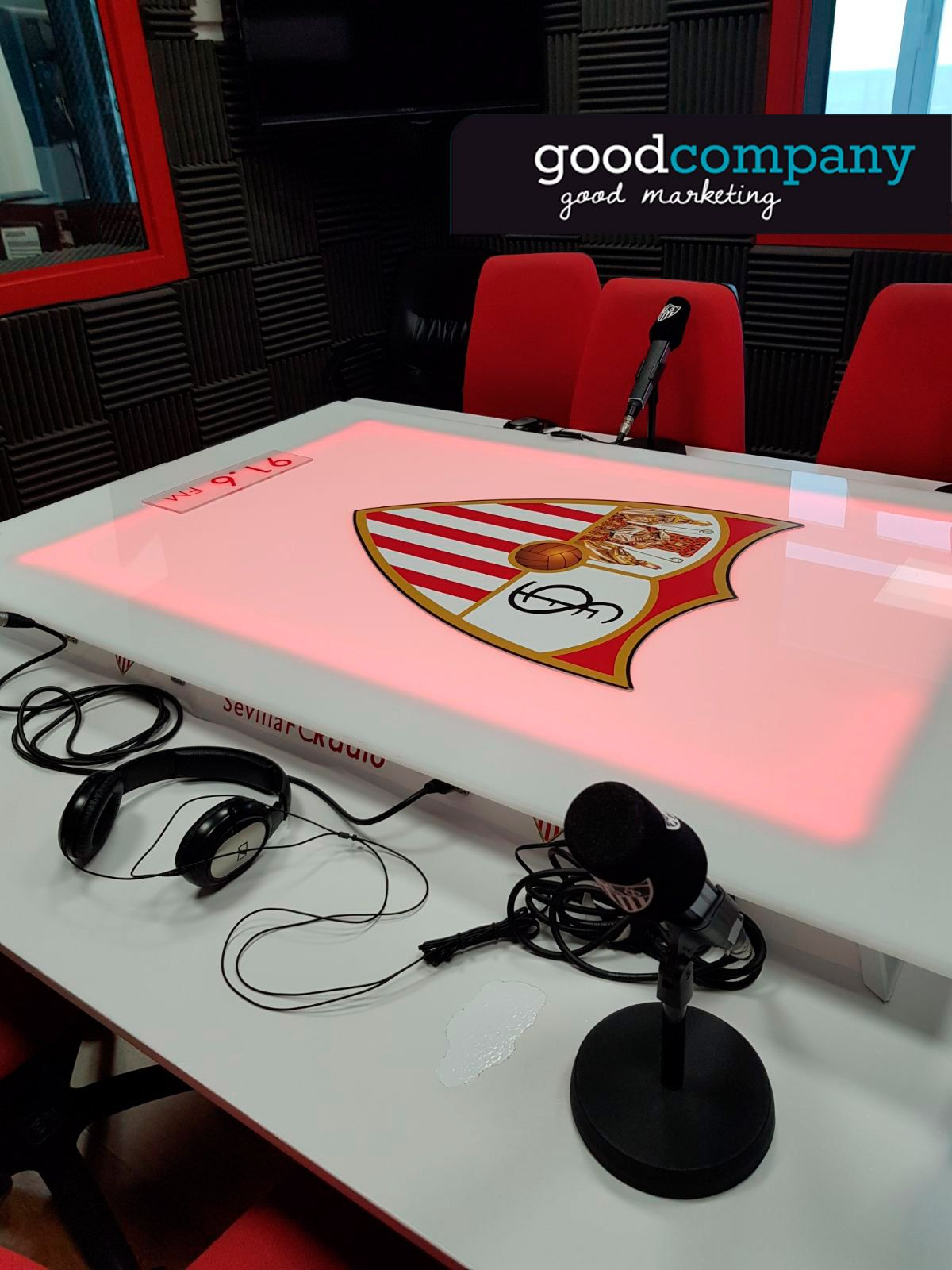 GoodCompany habla de marketing en la radio del Sevilla F.C.