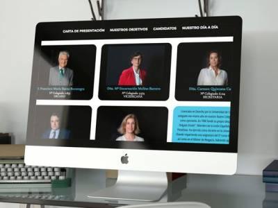 Campaña de Comunicación Candidatura Baena Bocanegra al ICAS (Ilustre Colegio de Abogados de Sevilla)
