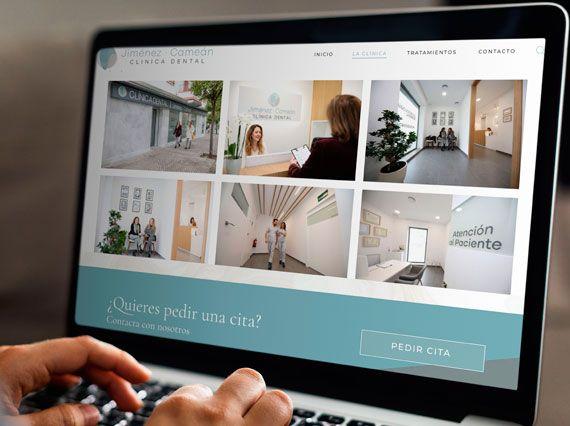 Pagina Web para Clínica Dental Jiménez Cameán