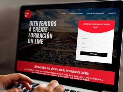 Plataforma de formación on line para Créate